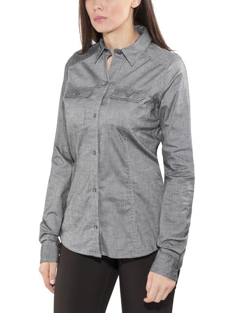 Arc'teryx Ballard - Camiseta de manga larga Mujer - gris
